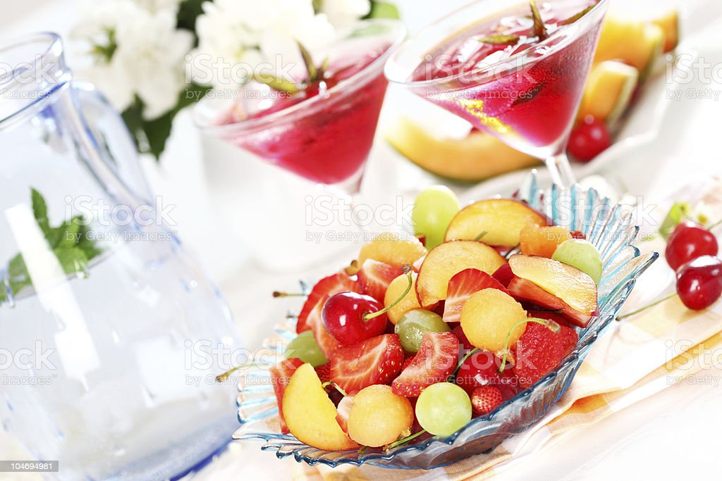Summer refreshment royalty-free stock photo