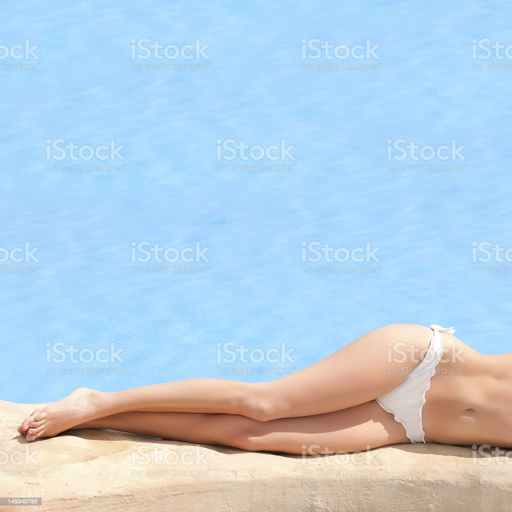 Summer relax royalty-free stock photo