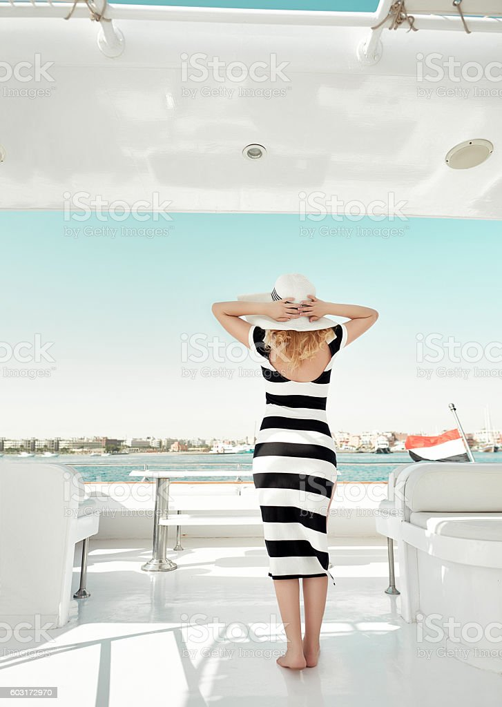 summer relaxing day stock photo
