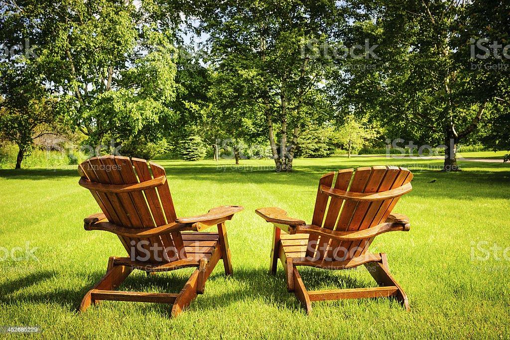 Summer relaxing stock photo