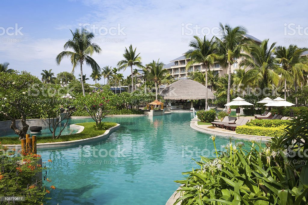 summer resort royalty-free stock photo