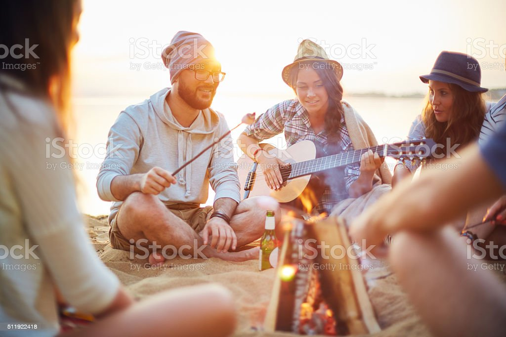 Summer rest stock photo