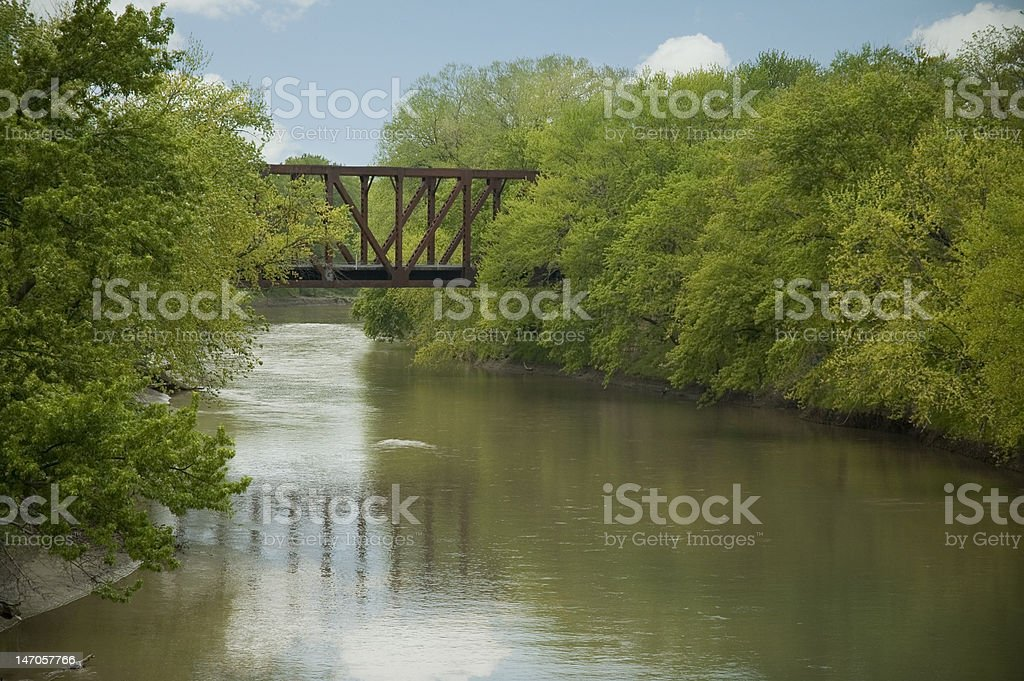 Summer River royalty-free stock photo