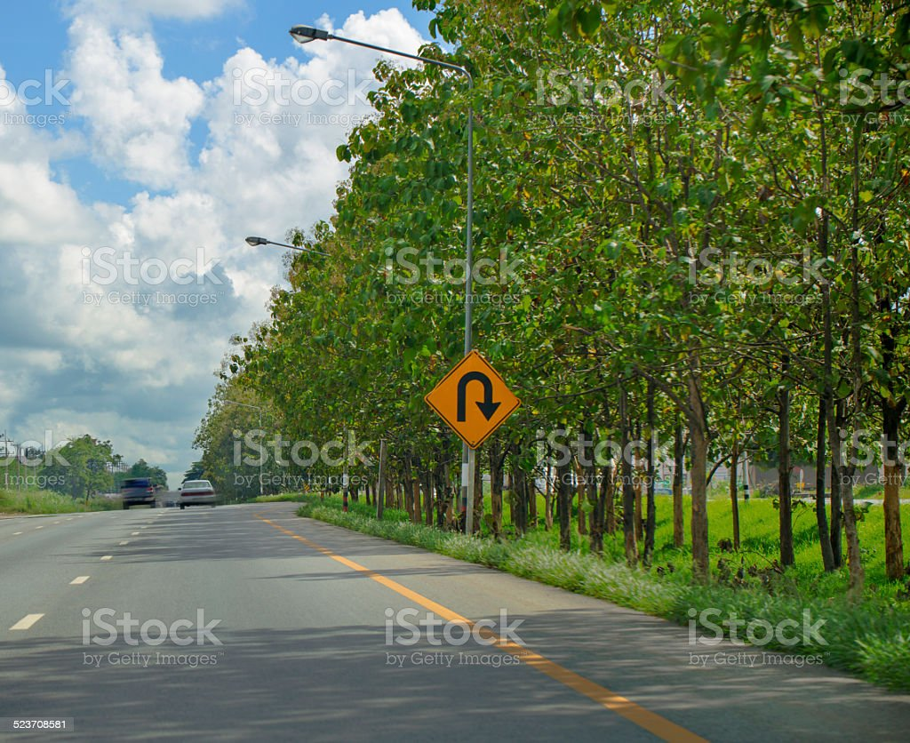 Summer Road stock photo