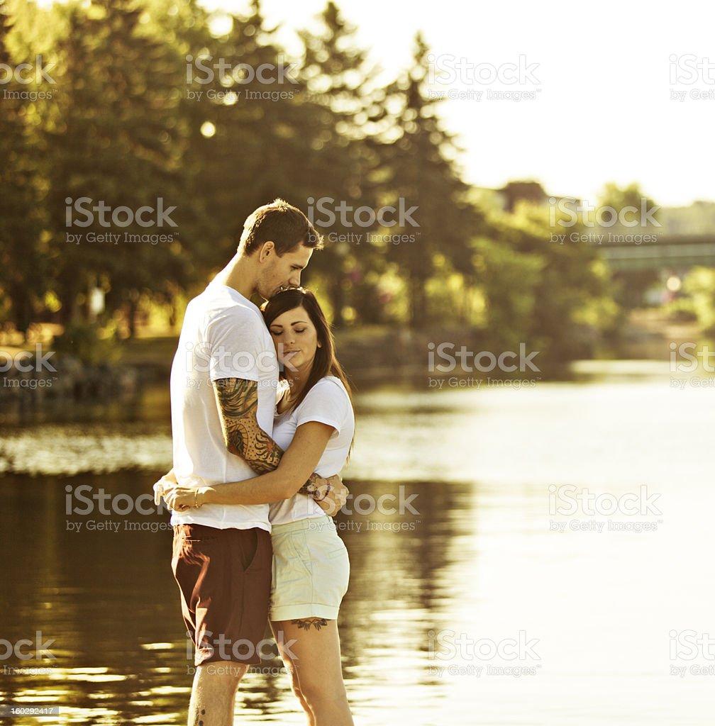 Summer Romance royalty-free stock photo