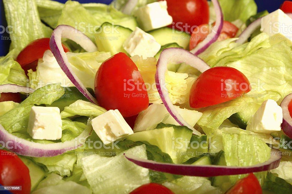 Summer salad 2 royalty-free stock photo