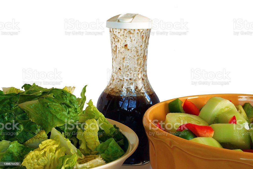 Summer Salad stock photo
