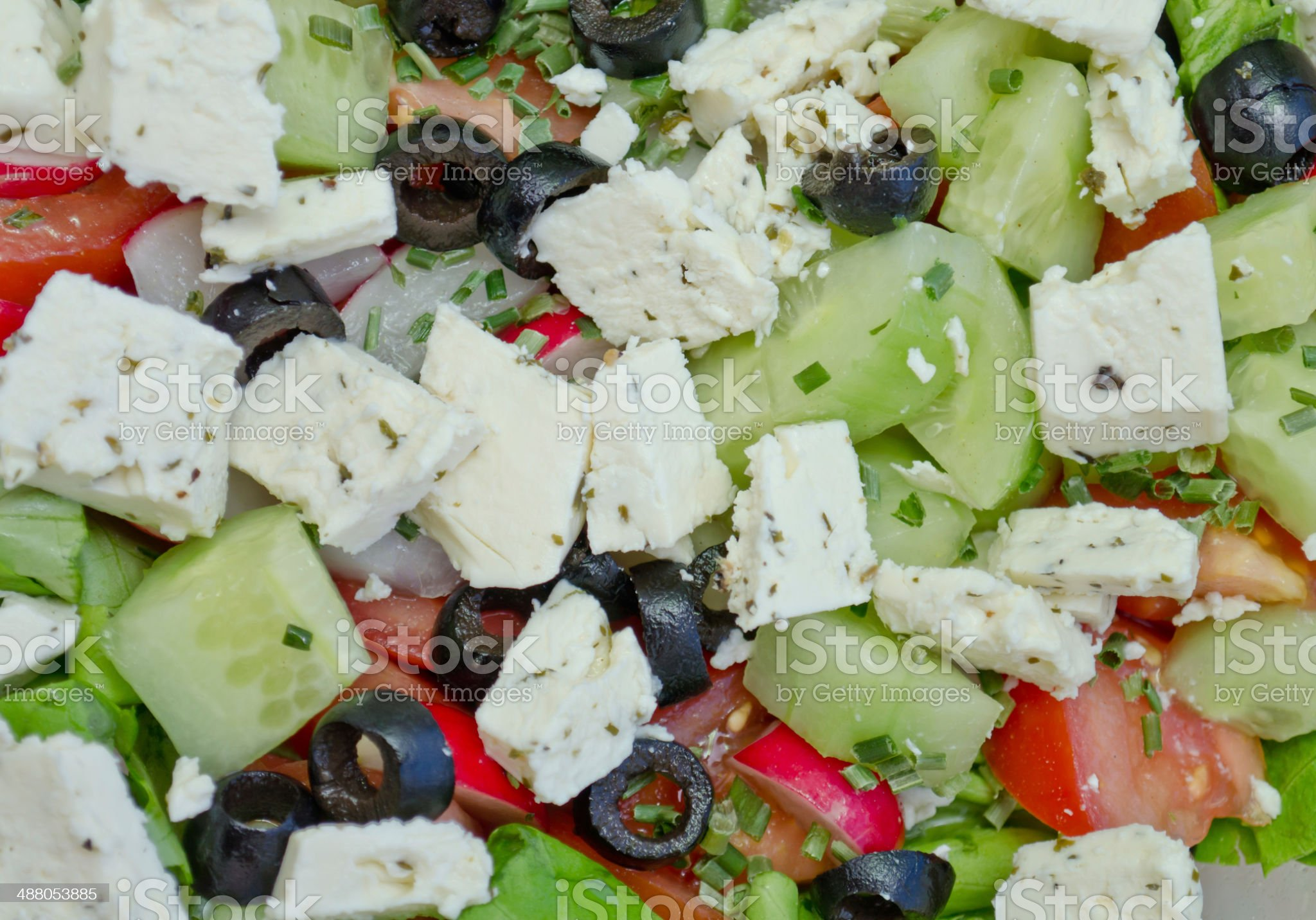 Summer Salad royalty-free stock photo