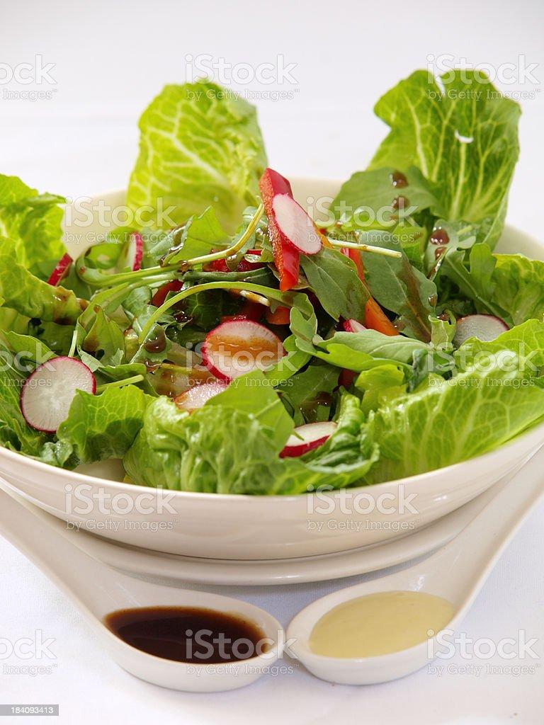 summer salads royalty-free stock photo