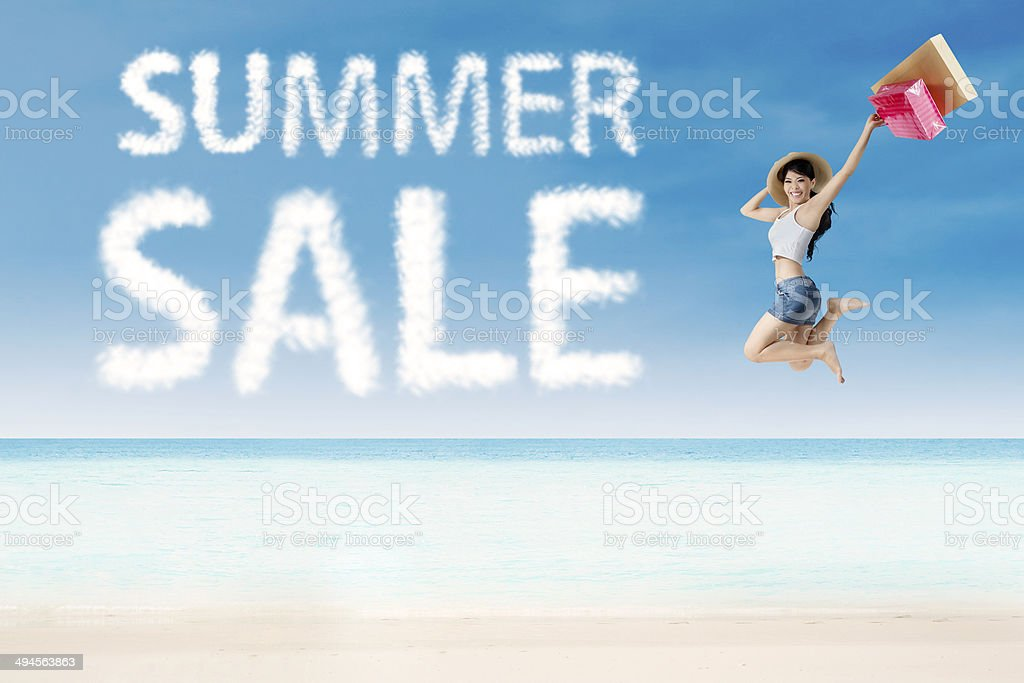 Summer sale special concept 1 royalty-free stock photo