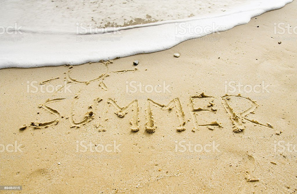Lato sands zbiór zdjęć royalty-free