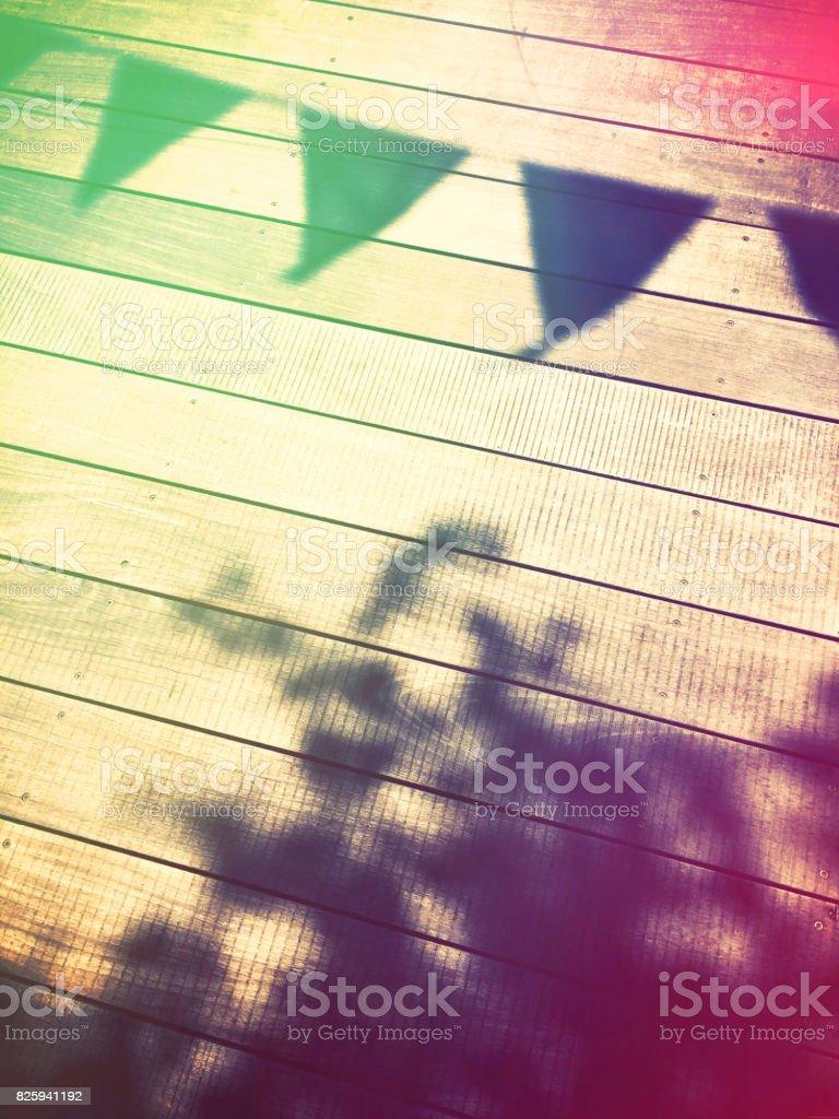 Summer scene stock photo