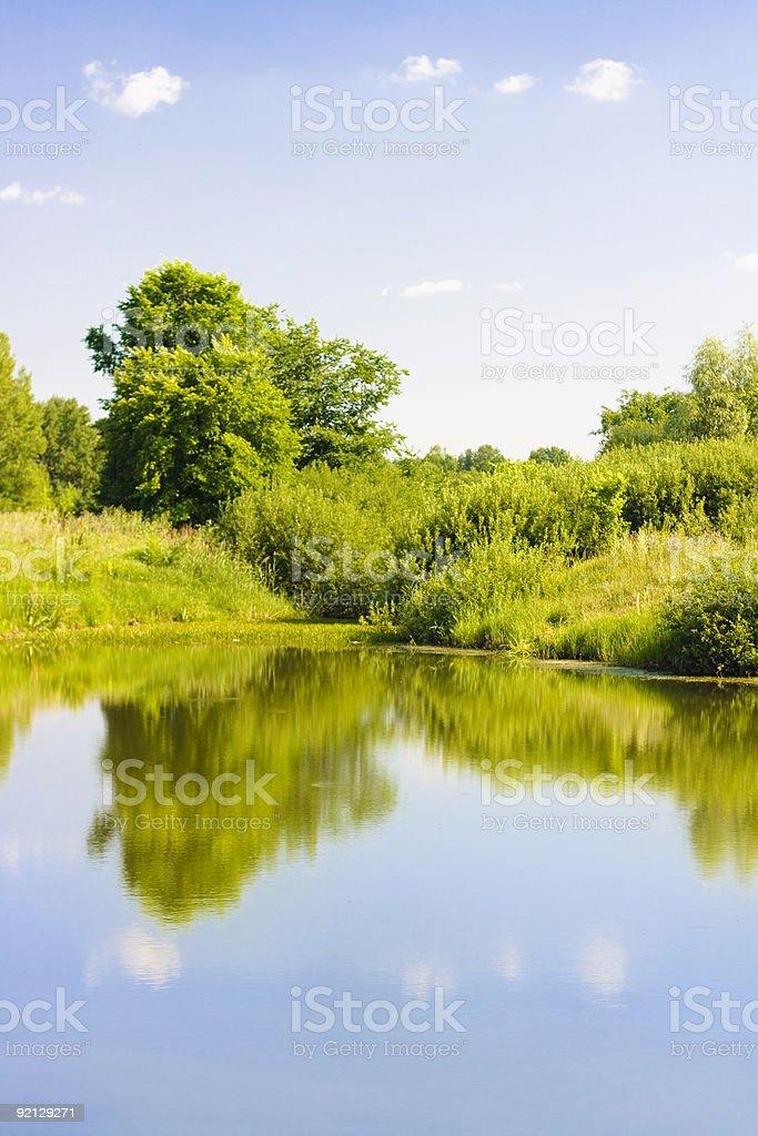 Summer scenery royalty-free stock photo