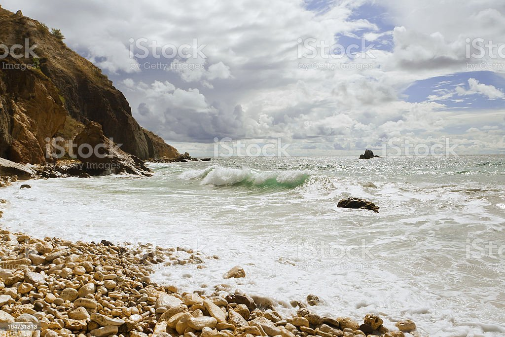 Summer sea royalty-free stock photo