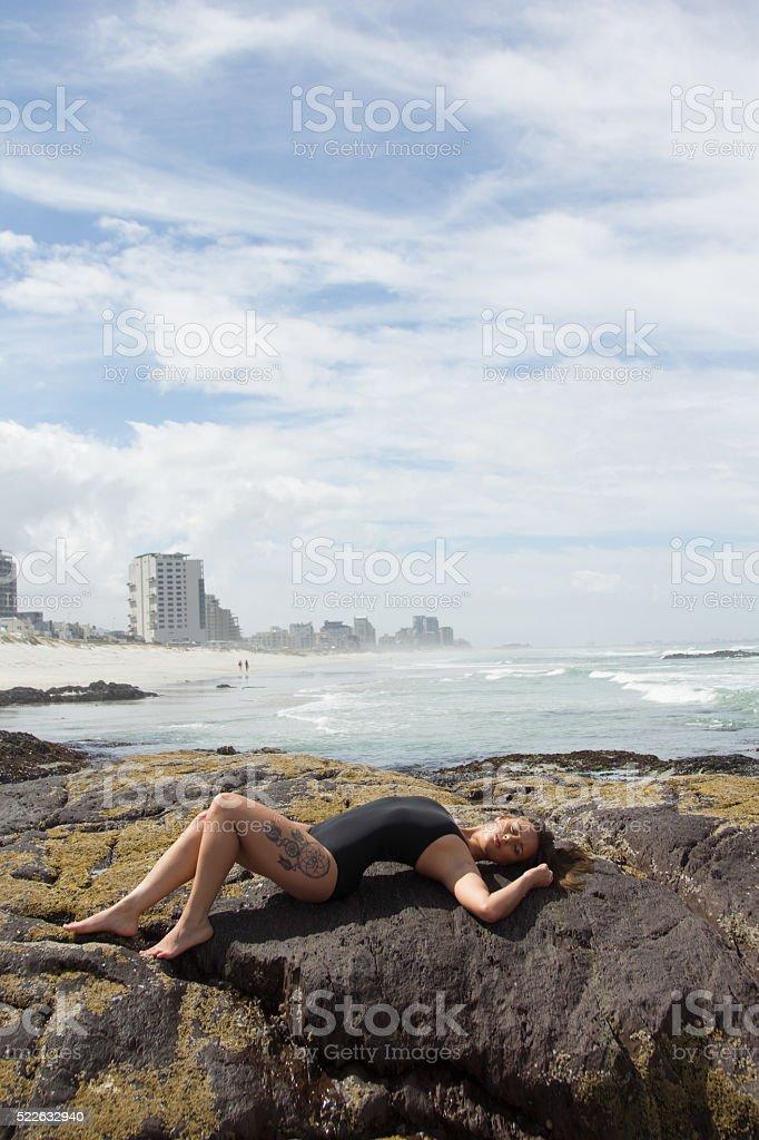 Summer Seduction stock photo