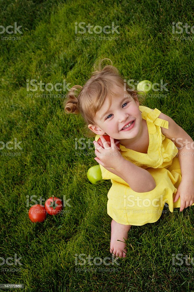 Summer Series/Healthy Eating royalty-free stock photo