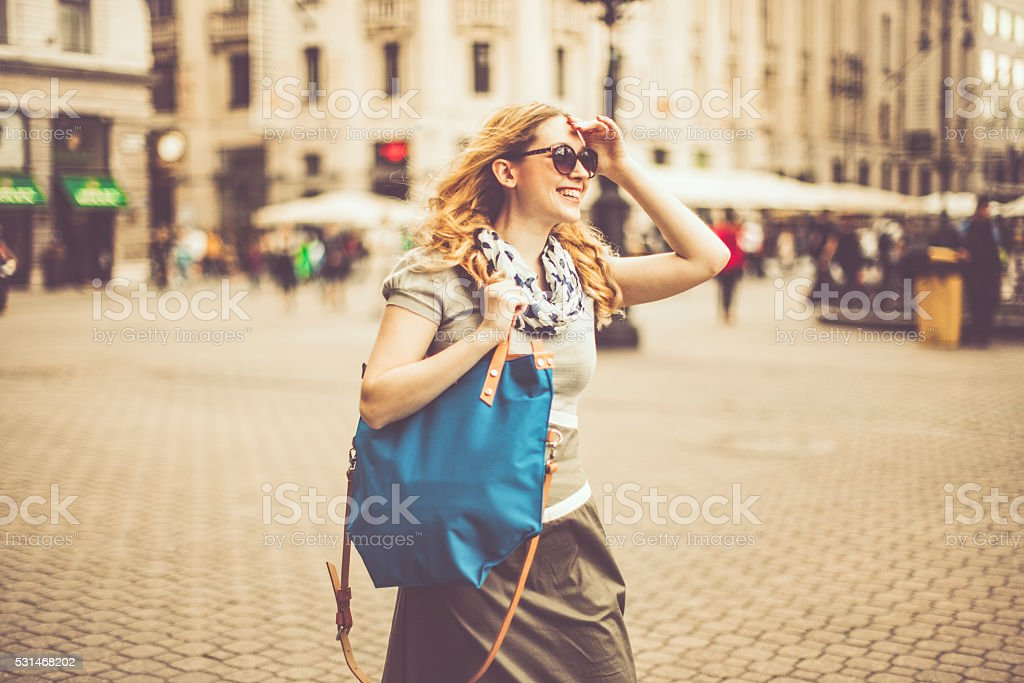 Summer shopping stock photo