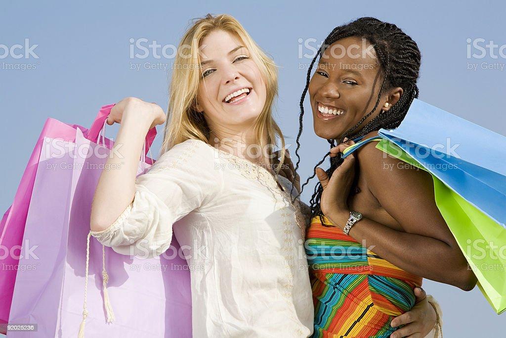 Summer shopping royalty-free stock photo