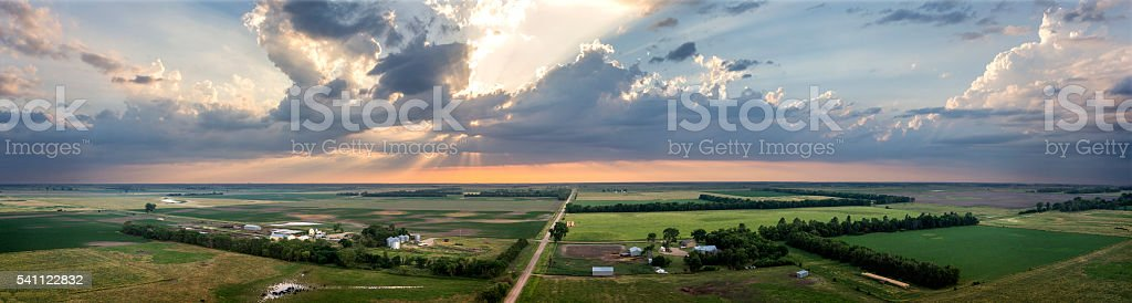 Summer SkyScape stock photo