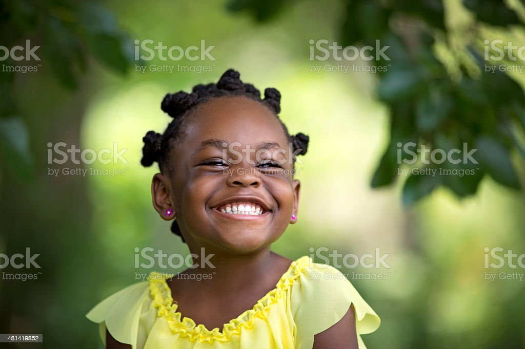 Summer Smile stock photo