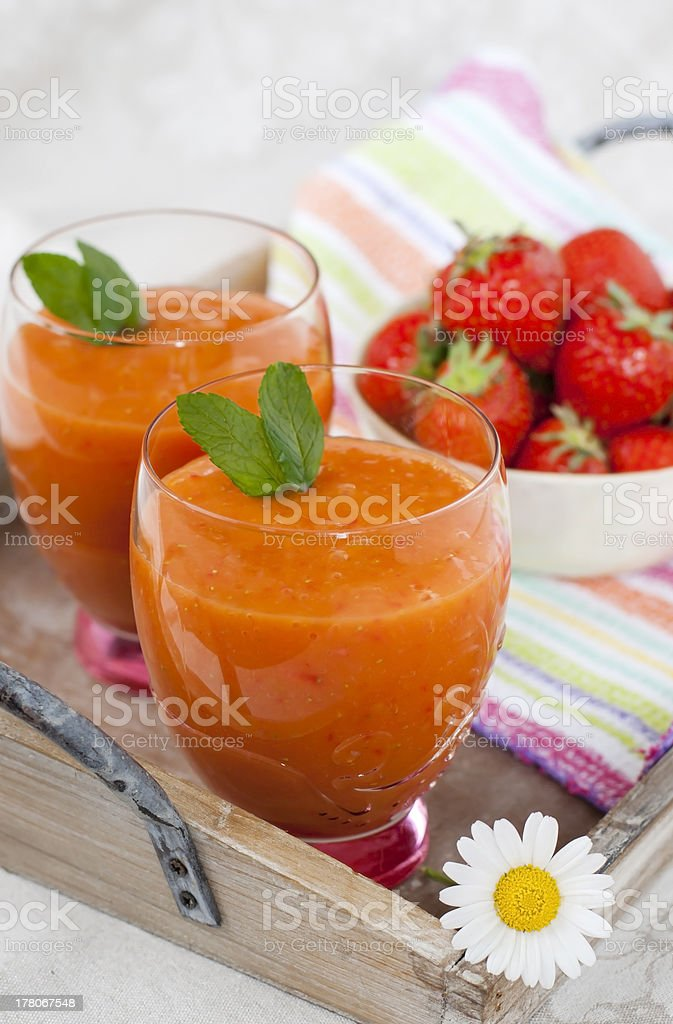 smoothie de verão foto royalty-free