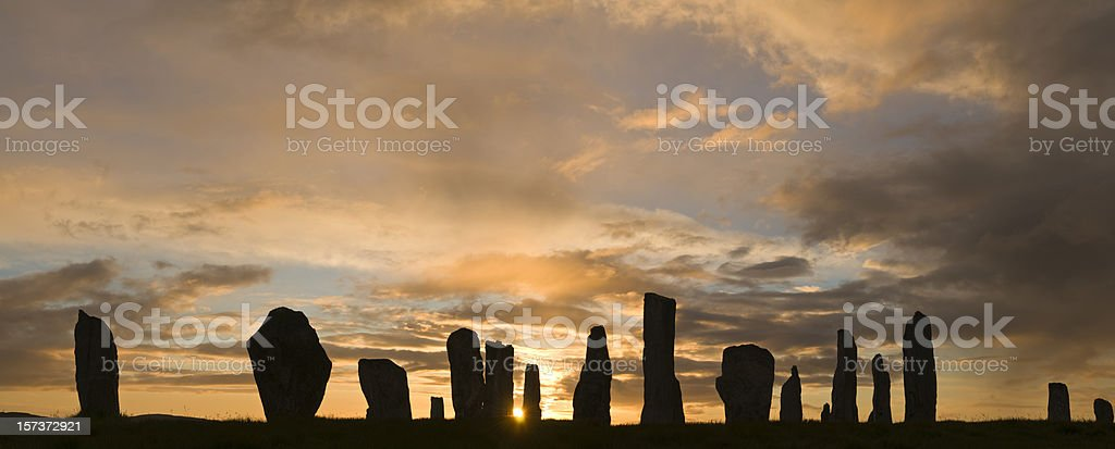 Summer Solstice Huge file royalty-free stock photo
