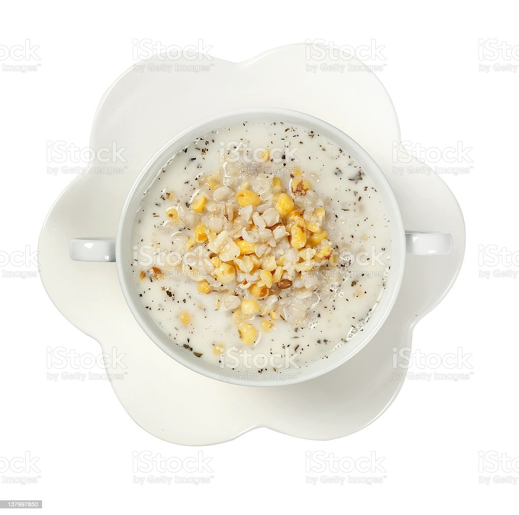 summer soup royalty-free stock photo