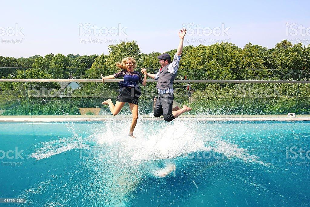 Summer Splash stock photo
