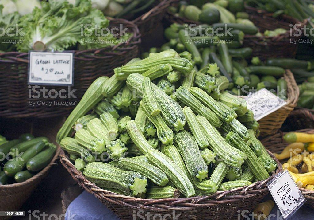 summer squash stock photo