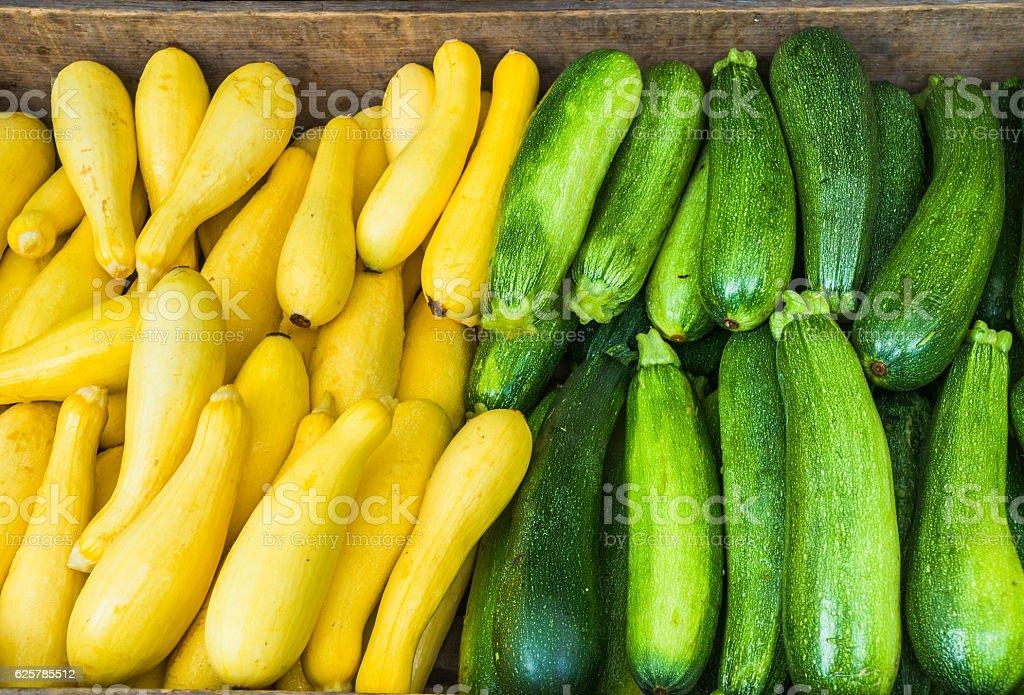 Summer Squashes stock photo