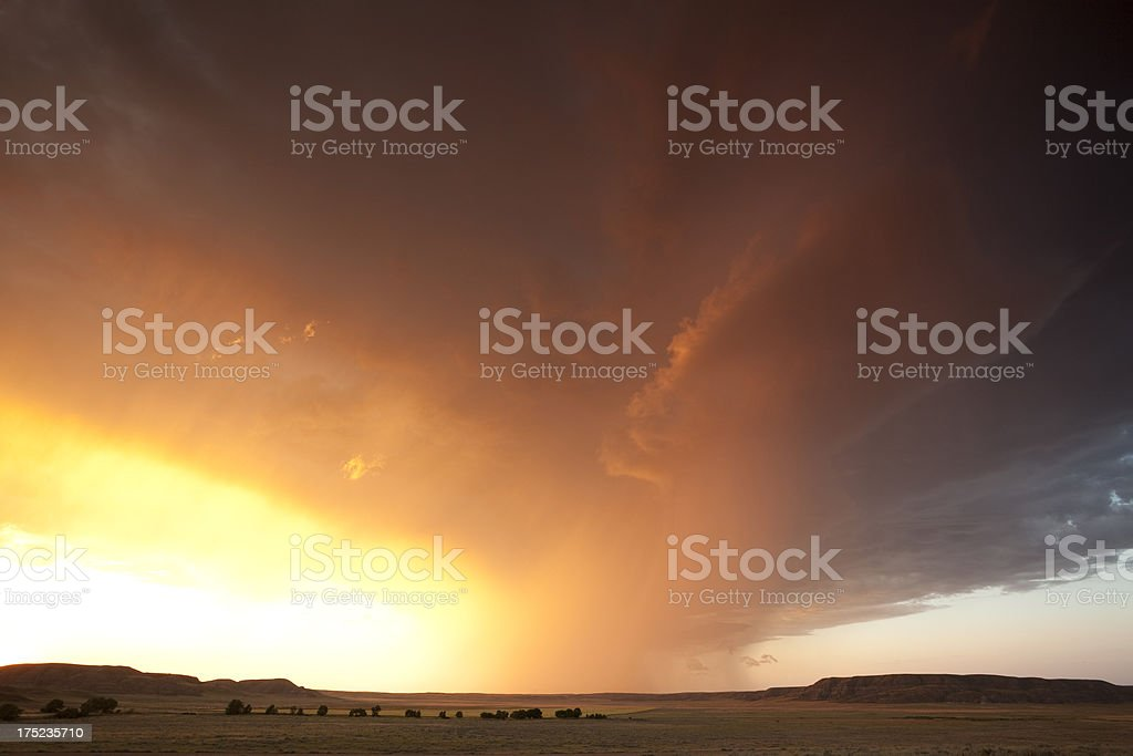 Summer Storm royalty-free stock photo