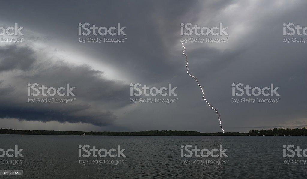 Summer Storm stock photo