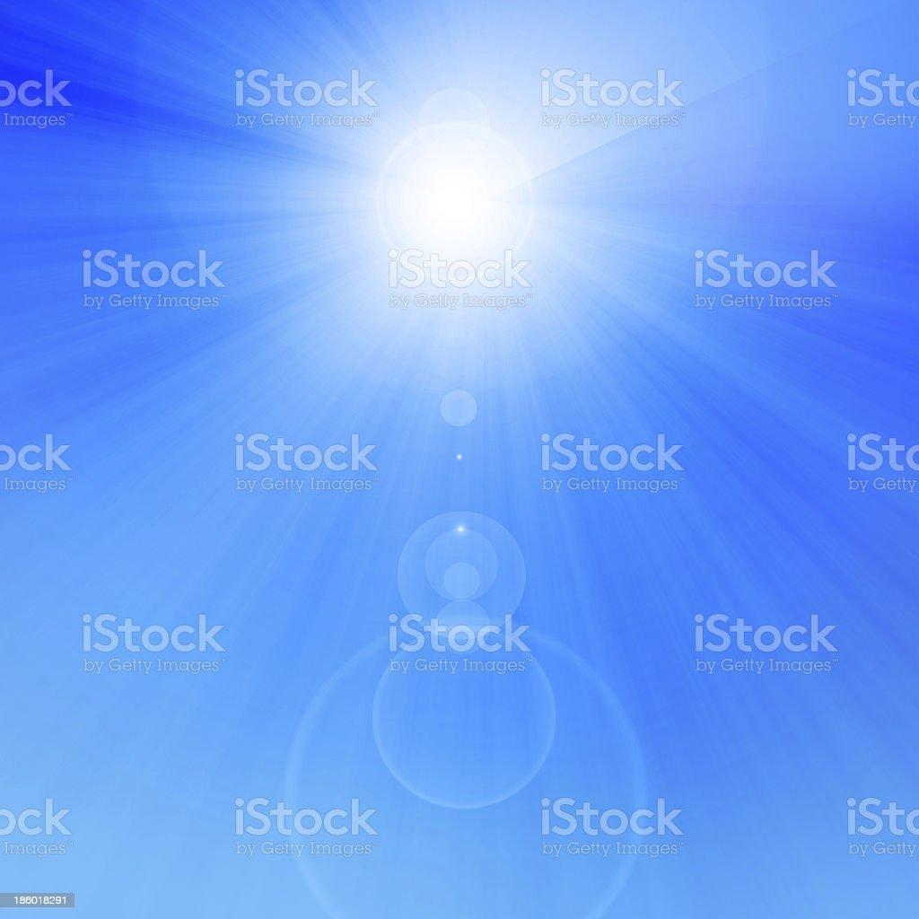 summer sun royalty-free stock photo