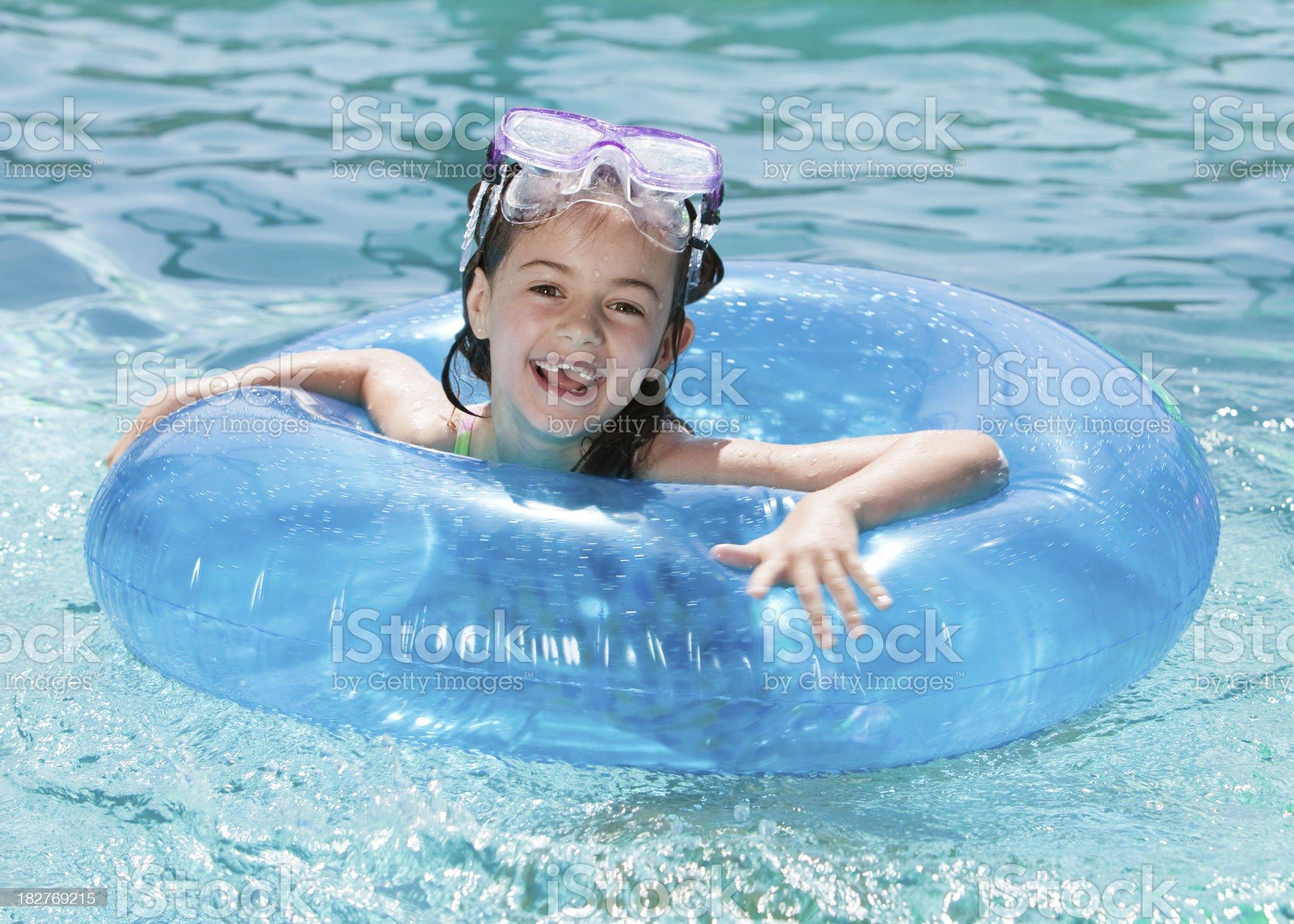 Summer Swimming Fun royalty-free stock photo