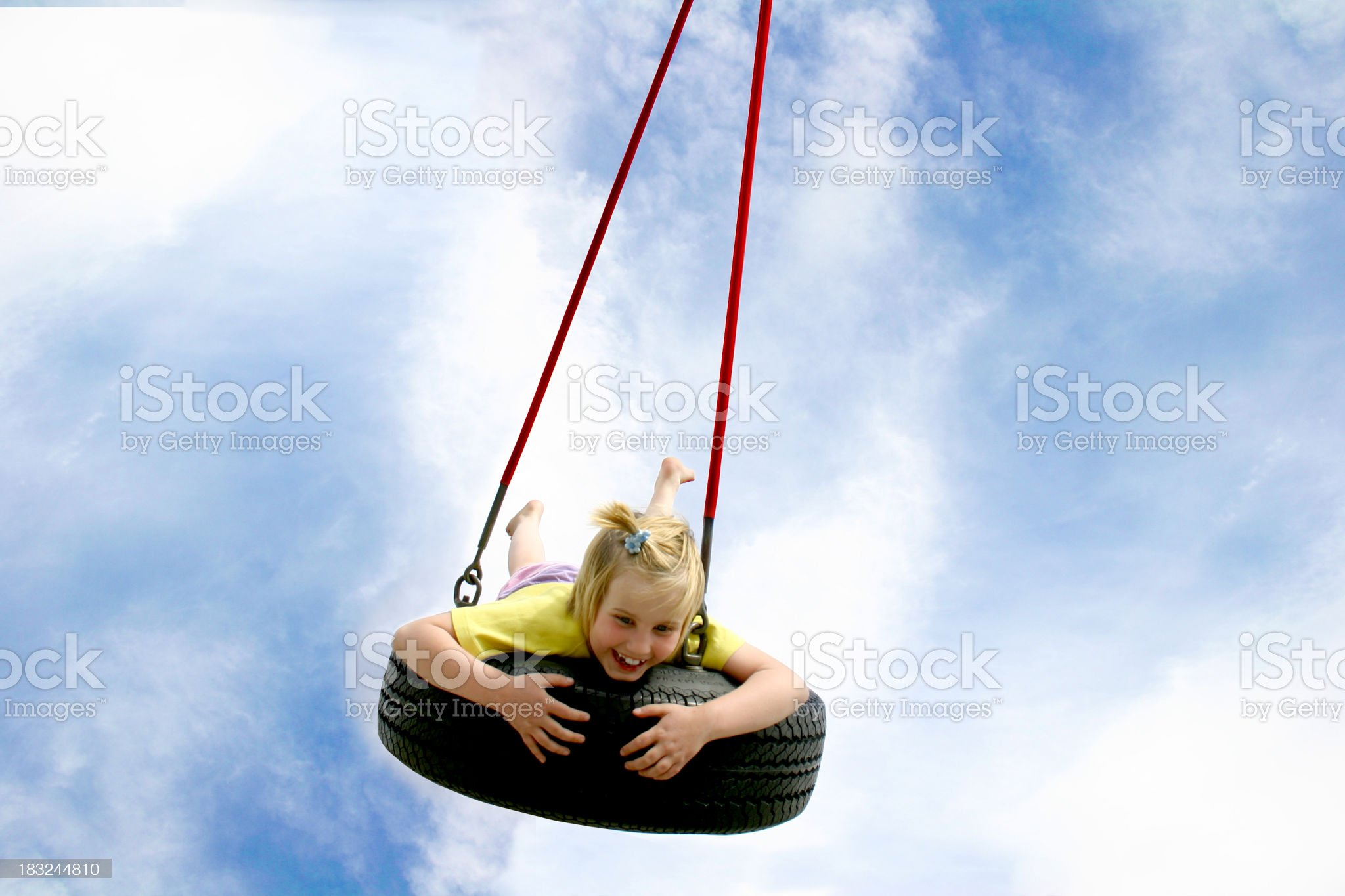 Summer swing II royalty-free stock photo