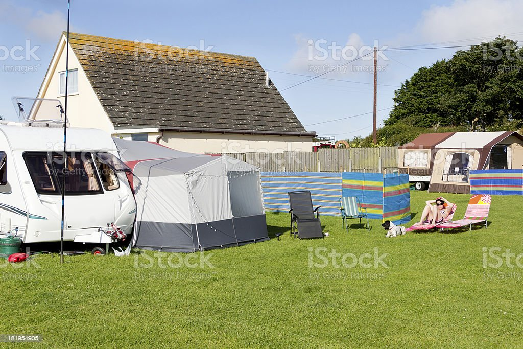 Summer time and the living is easy royalty-free stock photo