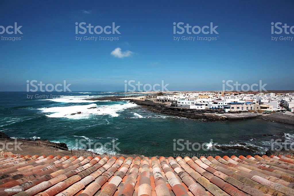 Summer time! Canary Islands, Fuerteventura stock photo