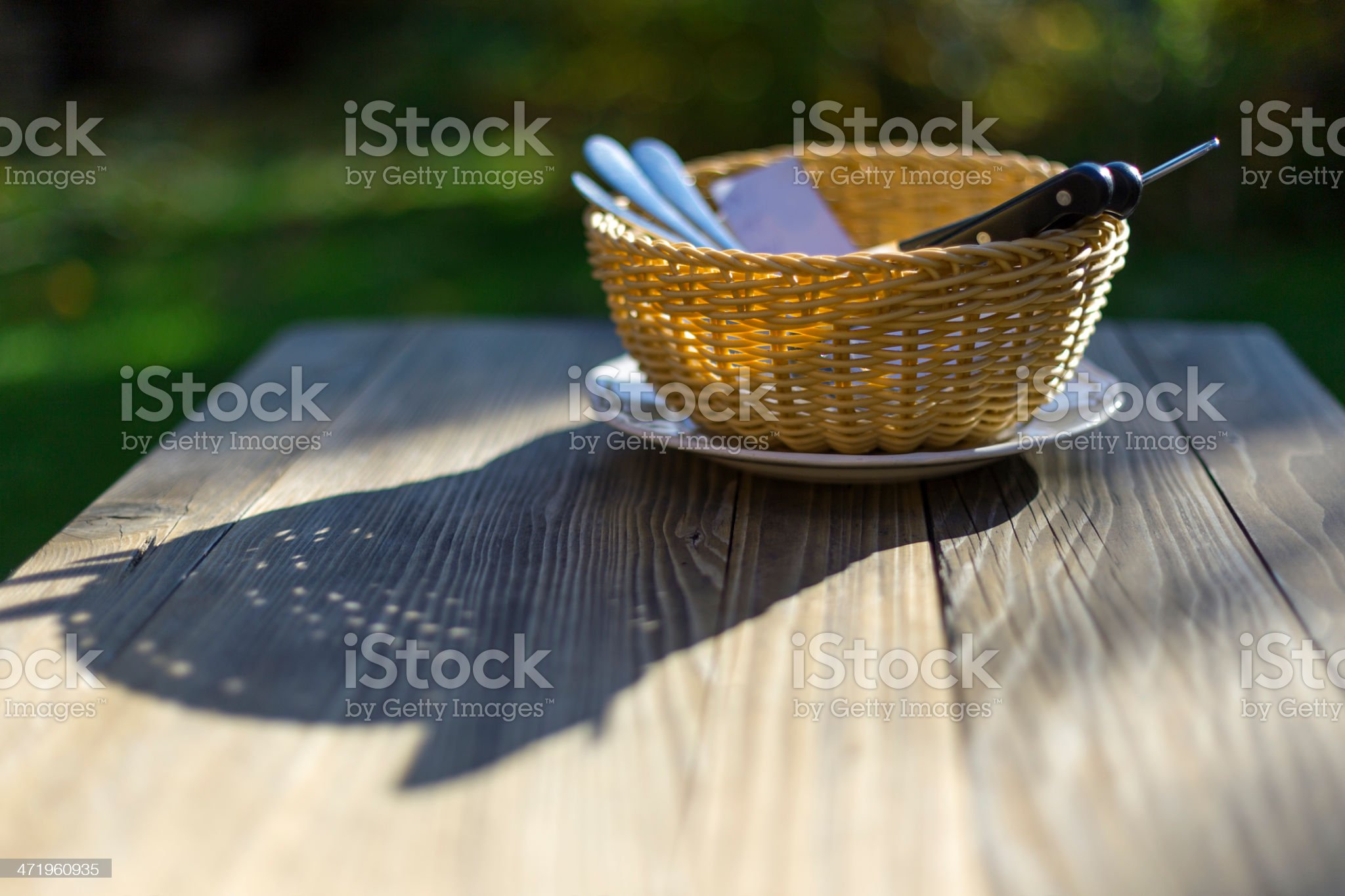 summer time in cafe royalty-free stock photo
