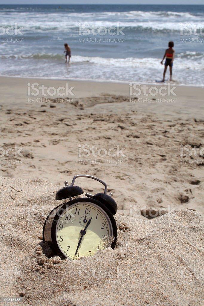 Summer Time metaphor royalty-free stock photo