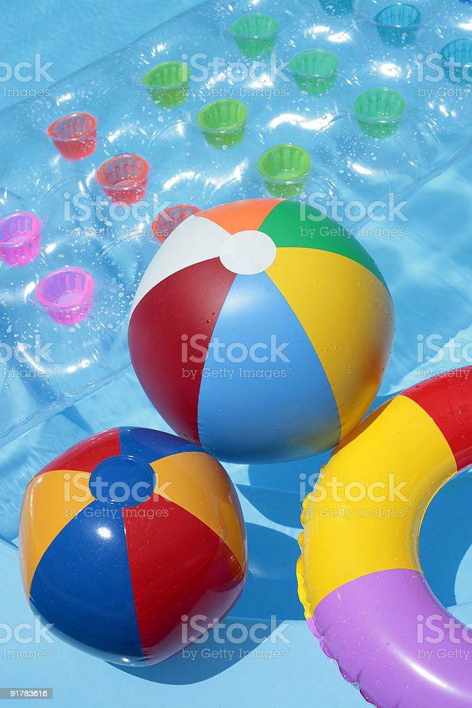 Summer Toy Background royalty-free stock photo