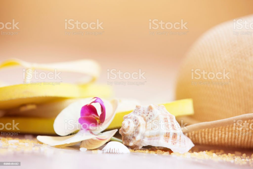 Summer travel concept stock photo