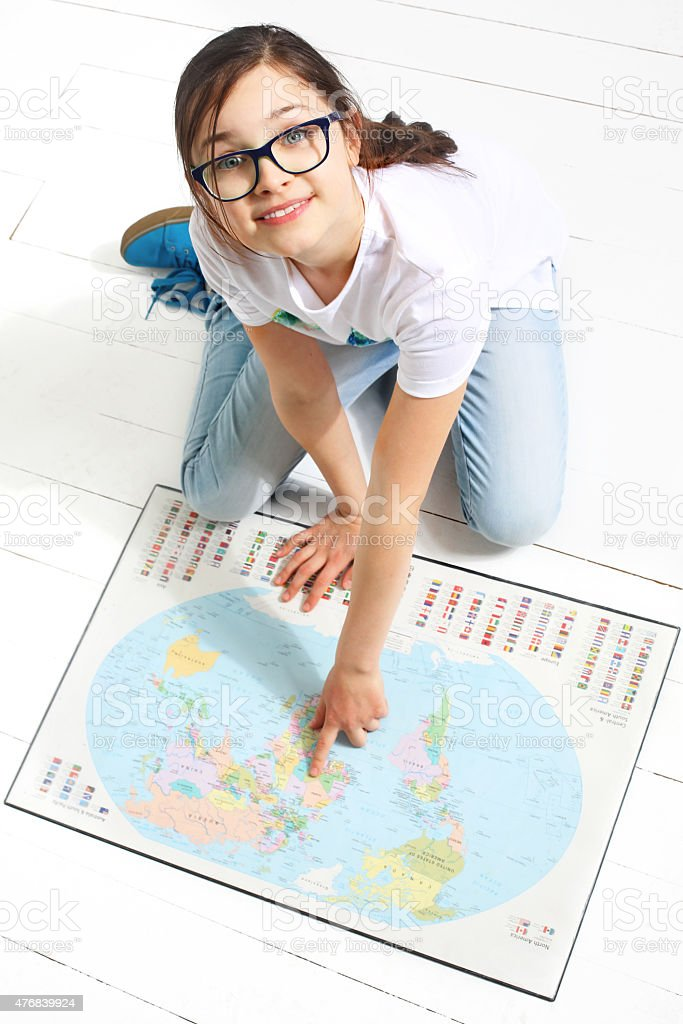 Summer travel plan stock photo