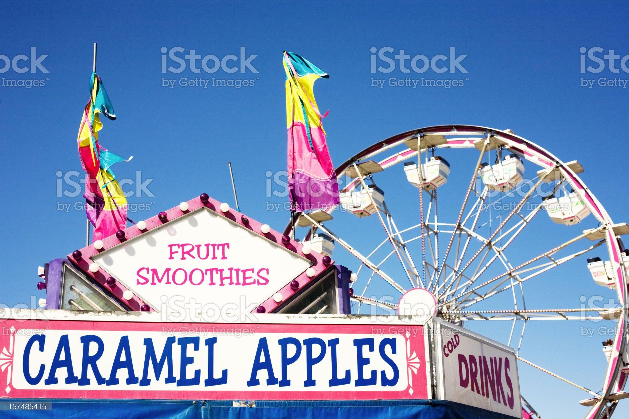 Summer Treats at the Carnival royalty-free stock photo