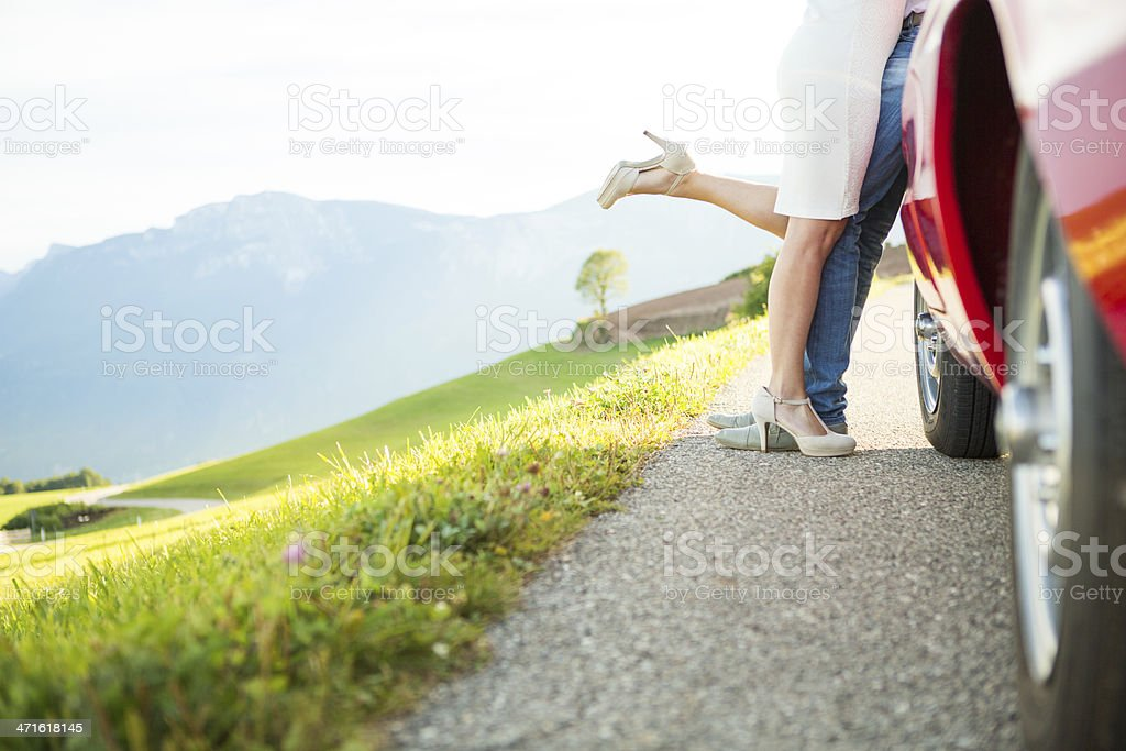 Summer trip by car royalty-free stock photo