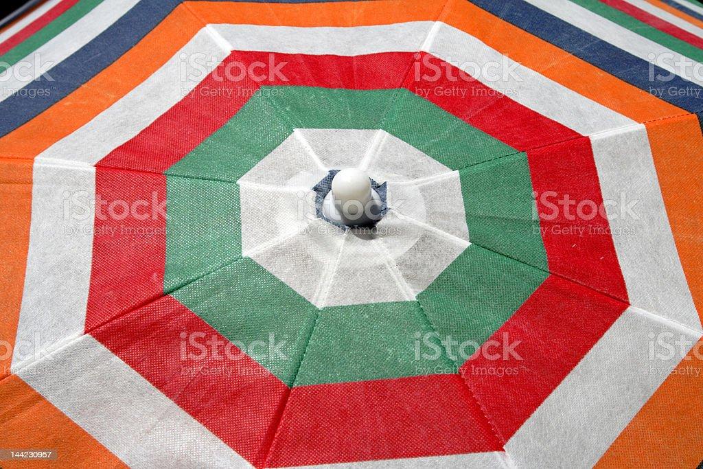Summer umbrella abstract royalty-free stock photo