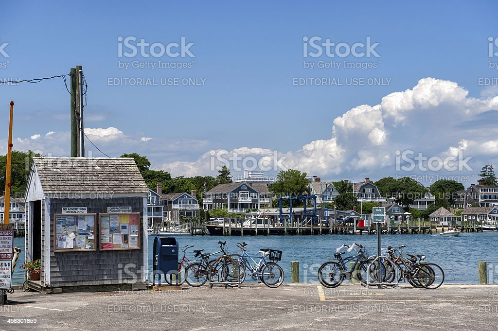 Summer vacation at Martha's Vineyard stock photo