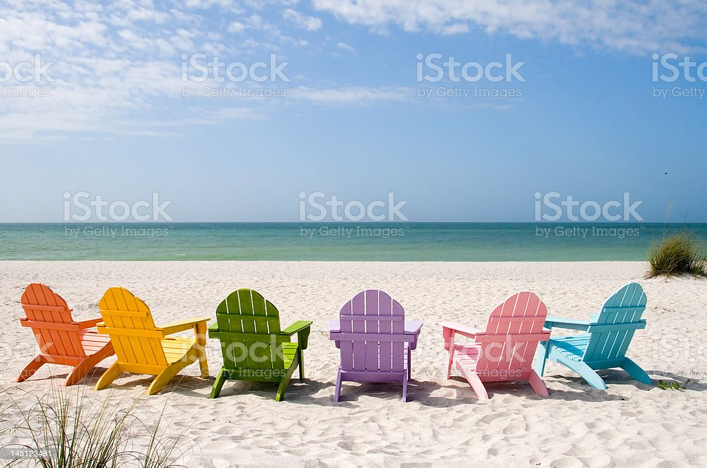 Summer Vacation Beach stock photo