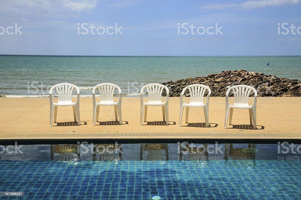 Summer Vacation Beach royalty-free stock photo