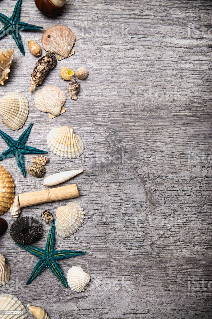 Summer vacation concept with copy-space stock photo