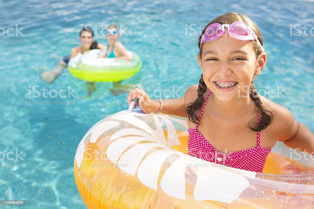 Summer vacation fun stock photo